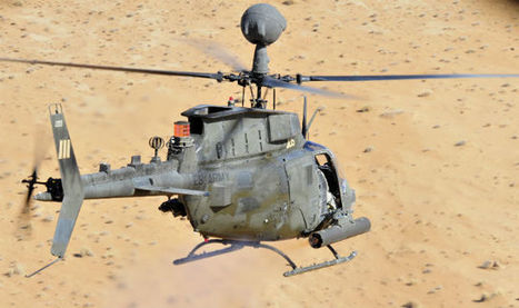 US Army OH-58F makes first flight | aerospace | Scoop.it