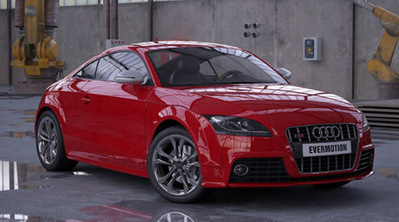 Audi TTS voiture 3D | 3D Library | Scoop.it