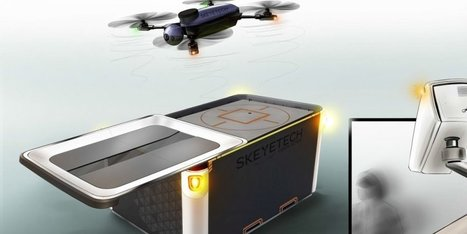 Le Bordelais Skeyetech crée un drone révolutionnaire qui se recharge automatiquement | ON-ZeGreen | Scoop.it