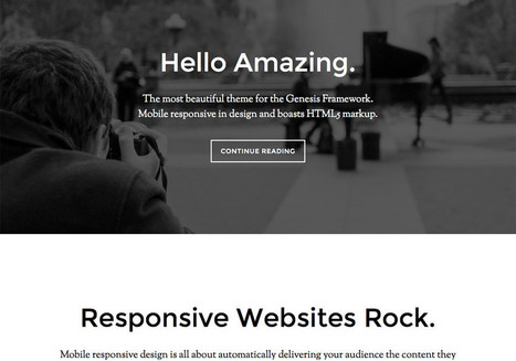 Parallax Pro Child Theme for Genesis | Premium WordPress Themes | Scoop.it