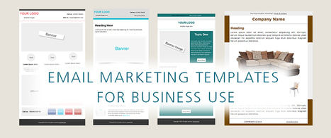 8 Types Of Email Marketing Templates That Every Business Needs | Internet makreting blogs | Scoop.it