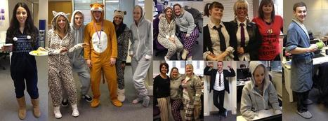 Aspire People wear PJs to work, in aid of Children in Need | Little success stories Christmas 2012 | Scoop.it