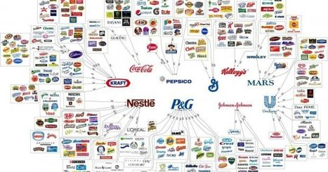10 Corporations Control Almost Everything You Buy — This Chart Shows How | Journalism and the WEB | Scoop.it