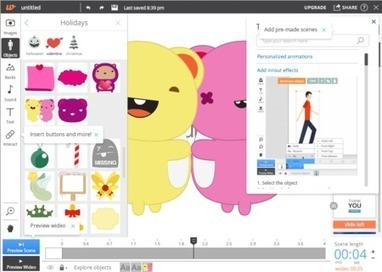 Doce herramientas y servicios online para crear animaciones sin conocimientos avanzados | Recursos, Servicios y Herramientas de la Web 2.0 en pequeñas dosis. | Scoop.it