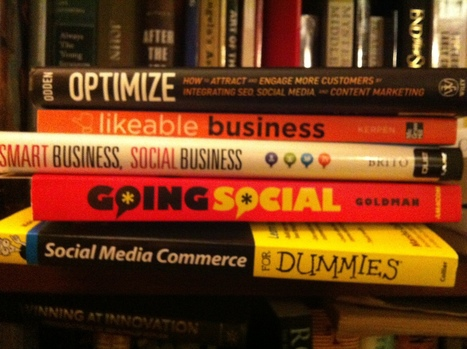Can't miss social media books for your Christmas list | Social Media for Small Biz | Scoop.it