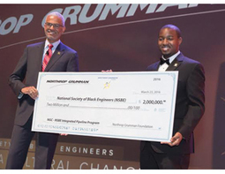 Northrop Grumman Gives $2 Million Grant to National Society of Black Engineers | Urban Science Education | Scoop.it