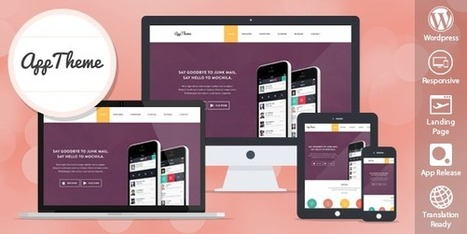 AppTheme Perfect Theme for Products and Apps | Great WordPress Themes | Scoop.it