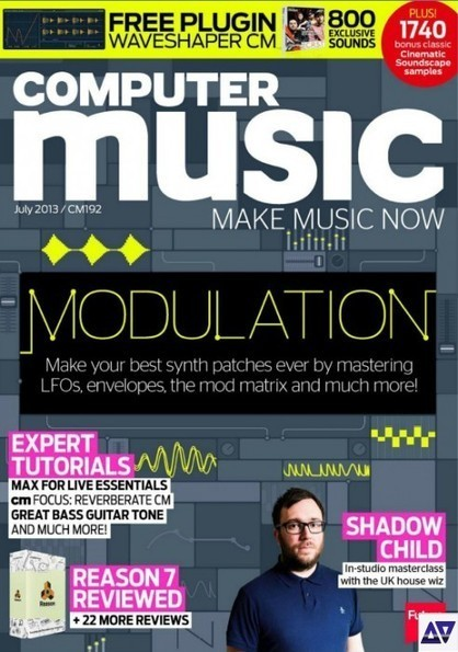 Computer Music - July 2013 » AudioZ - Professional Audio Software ... | Recording | Scoop.it