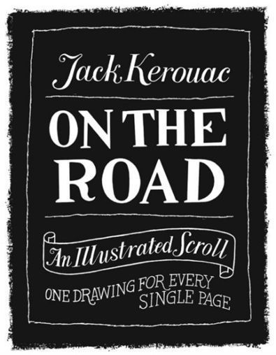 Jack Kerouac's On the Road turned into an illustrated scroll | Biblio | Scoop.it