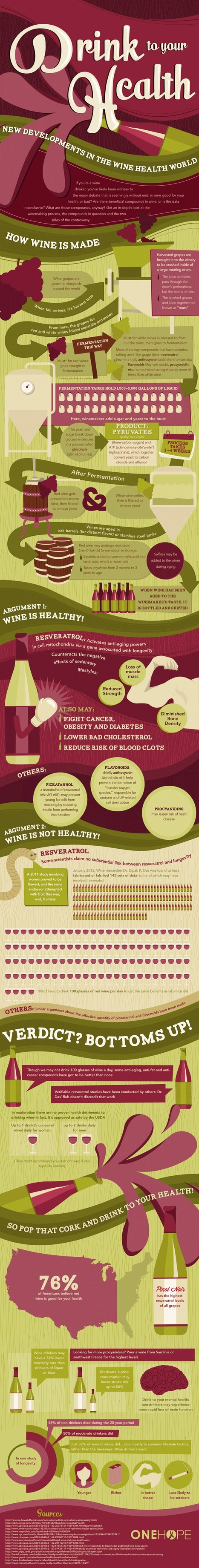 Feel Good Wine Infographic | Viticulture | Scoop.it