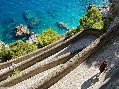 Via Krupp, the way to Paradise in Capri | Italia Mia | Scoop.it