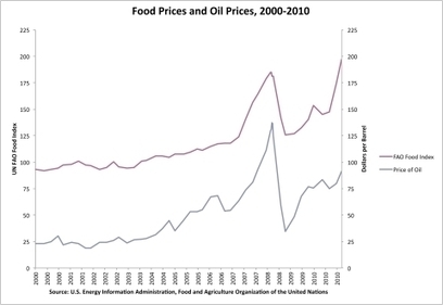 Soaring Oil and Food Prices Threaten Affordable Food Supply   Sustainable Futures   Scoop.it