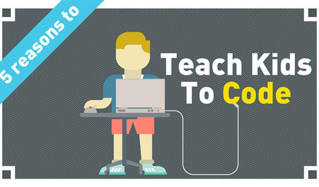 5 Unbeatable Reasons Your Kid Should Be Coding | Education Matters - (tech and non-tech) | Scoop.it