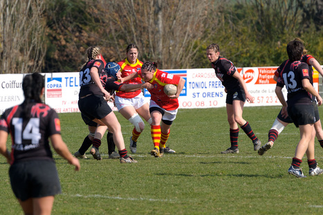 Saint Orens Rugby Féminin (SORF) - USAP le 6 mars 2011 à Saint Orens   Philippe Gassmann Photos   Scoop.it