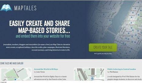 Map Tales, crea historias o narra hechos ubicándolos sobre el mapa | Eskola  Digitala | Scoop.it
