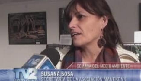 TV2 Noticias Ushuaia | Tierra del Fuego - Videos: Semana del medio ambiente | Asociación Manekenk | Scoop.it