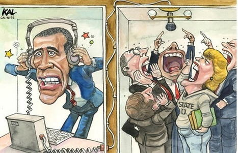 Obama y su 'ESPIONAJE transparente' | MAZAMORRA en morada | Scoop.it