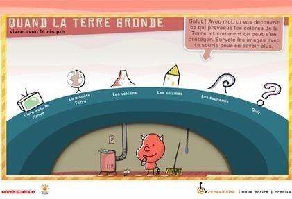 """""""Quand la Terre gronde"""" - animations pour les 8-12 ans (volcans, séismes, tsunamis, catastrophes naturelles)   TBI au collège   Scoop.it"""