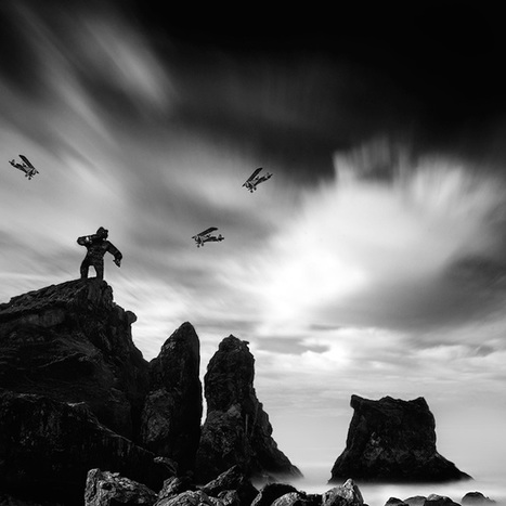 Long Exposure Seascape Photos Playfully Pay Homage to Iconic Pop Culture Characters | Le It e Amo ✪ | Scoop.it
