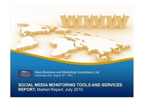 Social Media Monitoring Tools and Services Report | Ngoding | Social Media Sentiment | Scoop.it