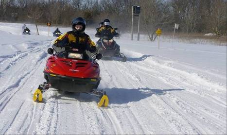 Snowmobile request for Lake Marie Forest Preserve denied - Chicago Daily Herald | Climate and Vegetation | Scoop.it
