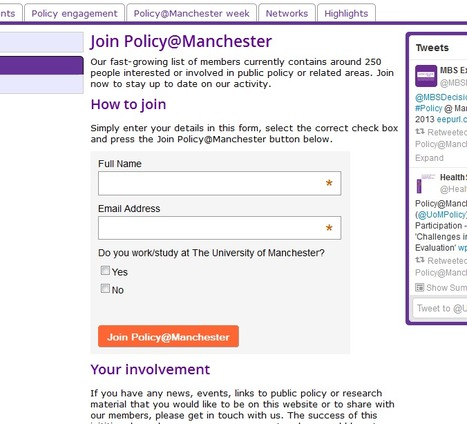 Join | Policy@Manchester | The University of Manchester | Policy@Manchester | Scoop.it
