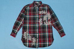 Easy Wardrobe Upgrade! DIY a Holiday-Perfect Plaid Shirt | Fashion DIY | Scoop.it