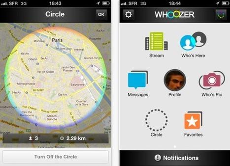 Whoozer : l'application qui vous fait découvrir les personnes autour de vous | younes_simson | Scoop.it