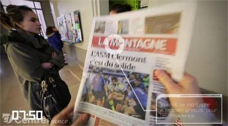 La journée d'un étudiant auvergnat en réalité augmentée | Educnum | Augmented Reality Stuff For You | Scoop.it