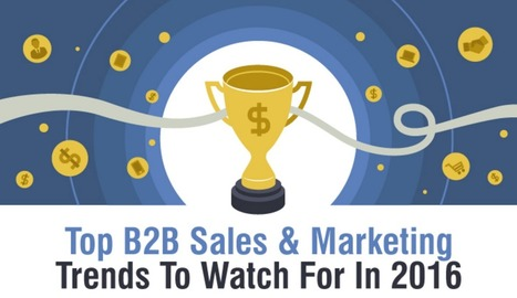 Top 5 B2B Sales And Marketing Trends In 2016 [Infographic] | OnMarketing: topics for professional service marketers | Scoop.it
