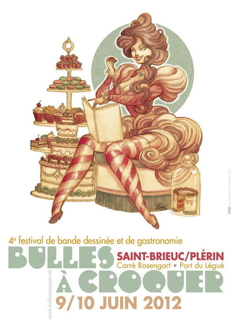 Bulles à Croquer - Festival de BD et Gastronomie   Voyages et Gastronomie depuis la Bretagne vers d'autres terroirs   Scoop.it