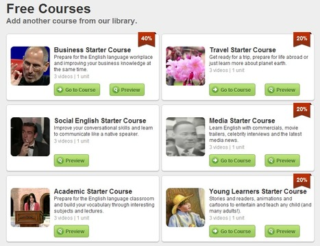 Courses - EnglishCentral.com | EnglishCentral World Report | Scoop.it
