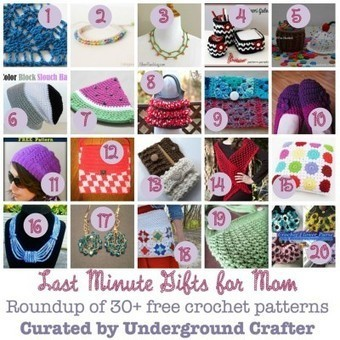 #FlashbackFriday Crochet Link Blast: Week 5: Last Minute Gifts for Mom | Underground Crafter | Blogging & Social Media | Scoop.it
