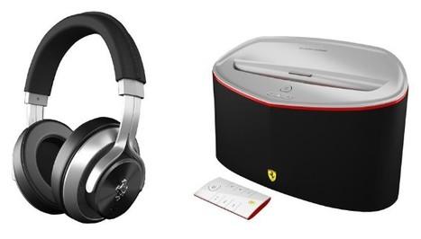 Logic3's Ferrari-branded headphones and speakers make their ... | Content Aggregator | Scoop.it