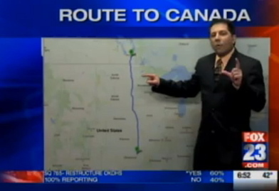Fox 23 Traffic Reporter Jeff Brucculeri Gives Directions to Canada After Obama Coup | News You Can Use - NO PINKSLIME | Scoop.it