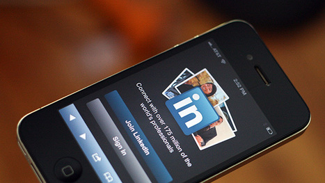 LinkedIn réalise 38% de son trafic sur mobile | Pascal Faucompré, Mon-Habitat-Web.com | Scoop.it