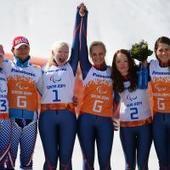 Quand le ski devient un sport d'équipe - Les jeux paralympiques | Sport et handicap | Scoop.it