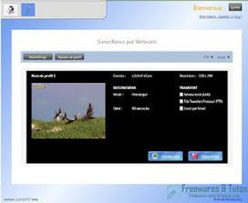 Home : un logiciel gratuit pour surveiller votre domicile à l'aide de votre webcam | Le Top des Applications Web et Logiciels Gratuits | Scoop.it