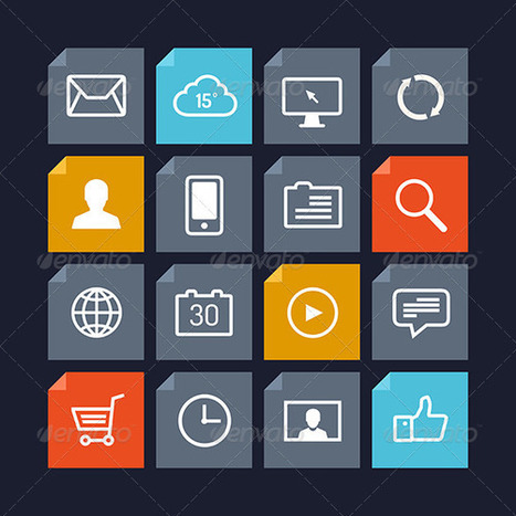 Vector Icons in Metro Style (Icons) | GFX Database | GFX Download | Scoop.it