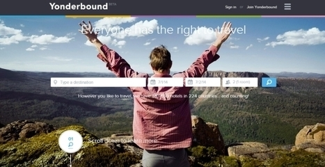 Startup pitch: Yonderbound wants to break down the barriers to travel   luciane cordeiro   Scoop.it