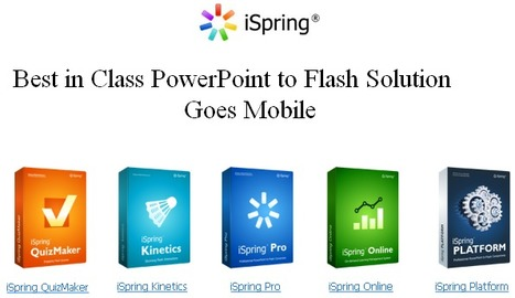 iSpring Introduces PowerPoint to HTML5 Technology | Digital Presentations in Education | Scoop.it