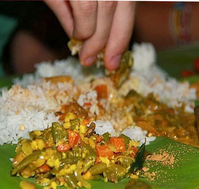 Eating with Hands | totalbhakti | Scoop.it