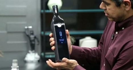 Gadget ou Innovation ? Une bouteille connectée pour remplacer le BiB et servir le vin au verre   Communication, Marketing Web&Vin   Scoop.it