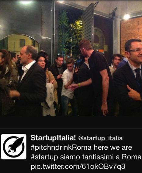 #pitchndrinkRoma: gran successo per l'aperitivo delle startup. Seedble ringrazia! | The Italian Startup Ecosystem | Scoop.it