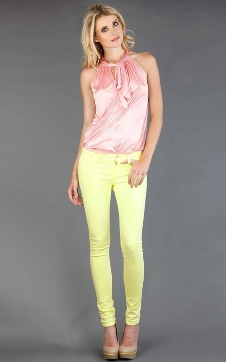 The Dos and Don'ts of Wearing Pastel Pants | All About Boots | Scoop.it