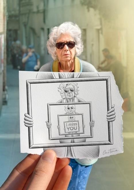 20 incroyables oeuvres de Ben Heine | En français, au jour le jour | Scoop.it