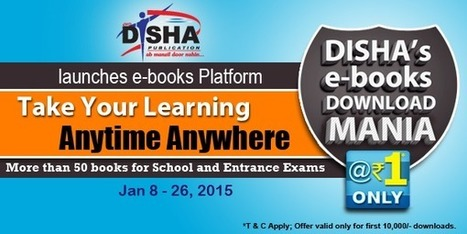 Buy Ebooks Online @Rs 1 - Disha Publication | Download Free Study Material | Education News | Buy Books Online | Scoop.it