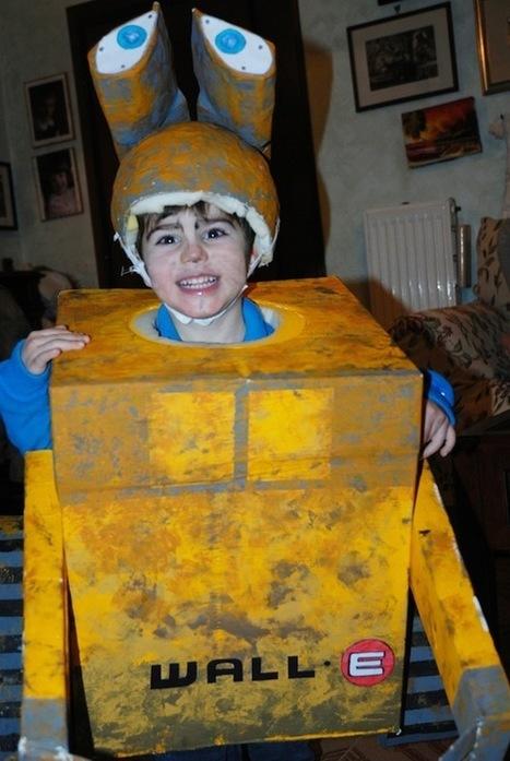Carnevale: 5 costumi fai da te dagli scatoloni di cartone | Craft and other ideas | Scoop.it