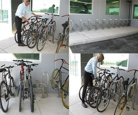 Arrow Alpha - Raising the Bar in Bike Parking Design | Secure bicycle parking facilities | Scoop.it