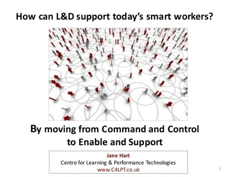 How can L&D support today's smart workers? | APRENDIZAJE | Scoop.it